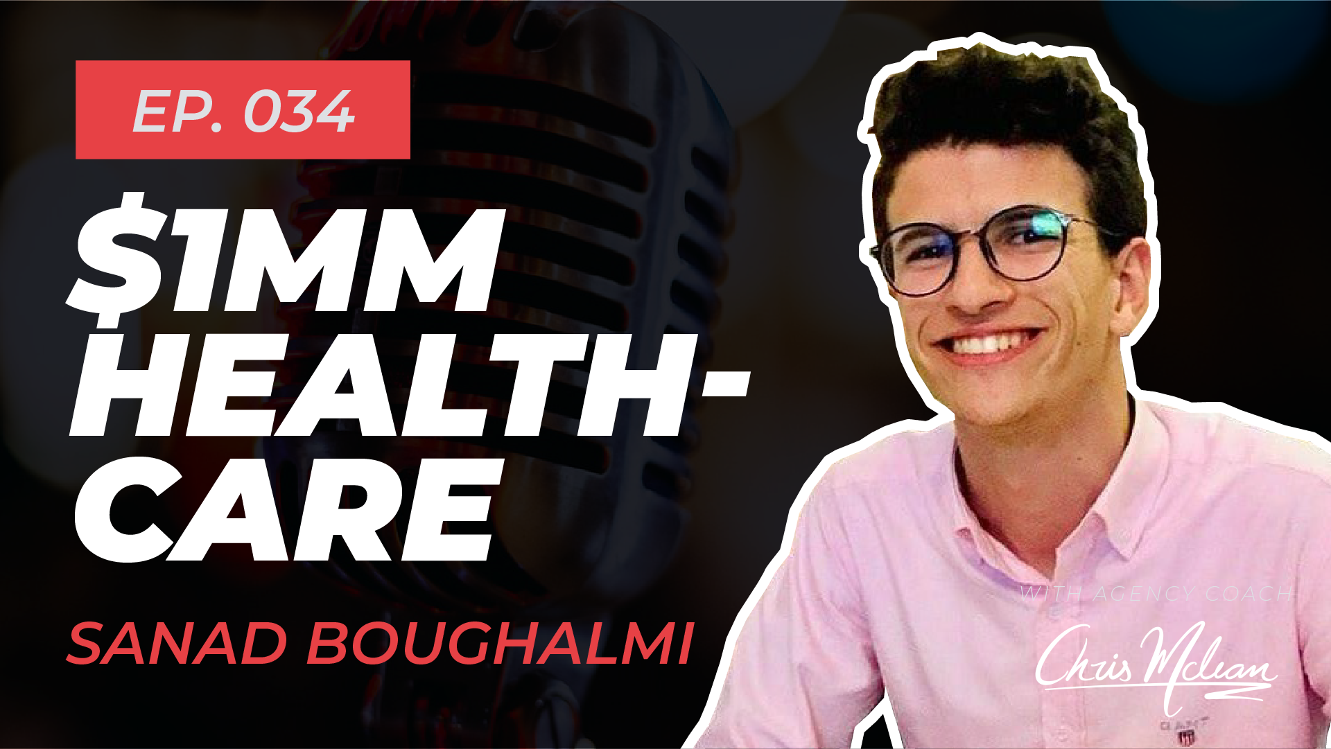 EP034 | Automating $1MM Healthcare with Sanad Boughalmi